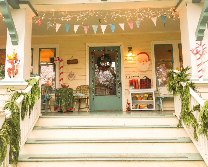 Porch Vintage Christmas Holiday Portland Collection