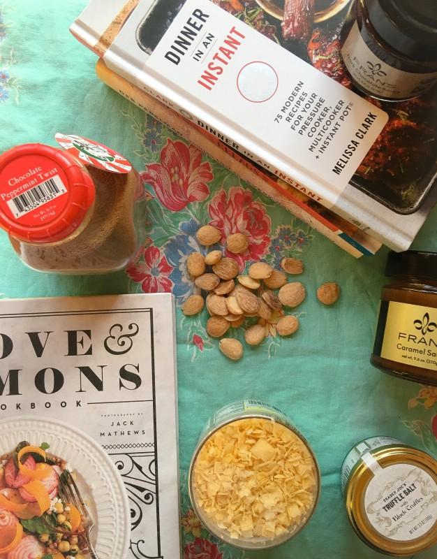 holiday foodie gifts cookbooks and salt