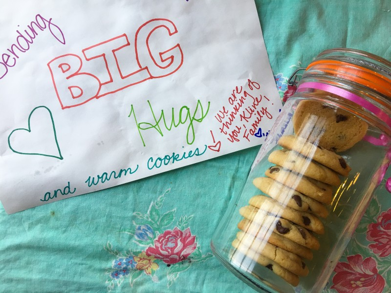 Cookies and Sign for Bailey