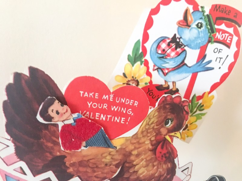 Valentines Day Vintage Cards Holiday