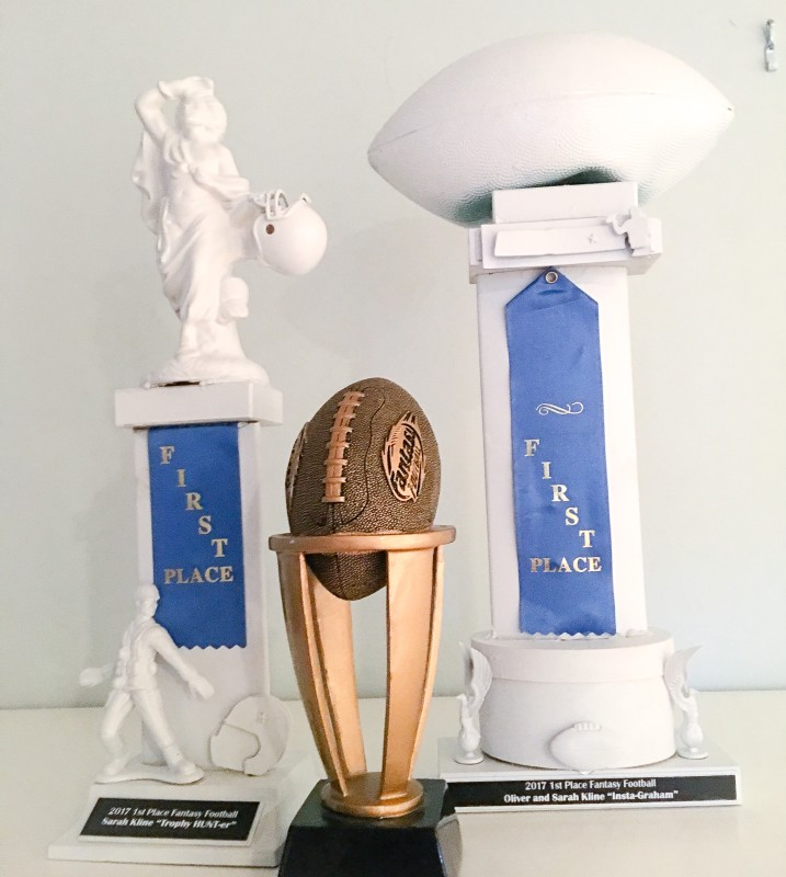 fantasy football trophy diy