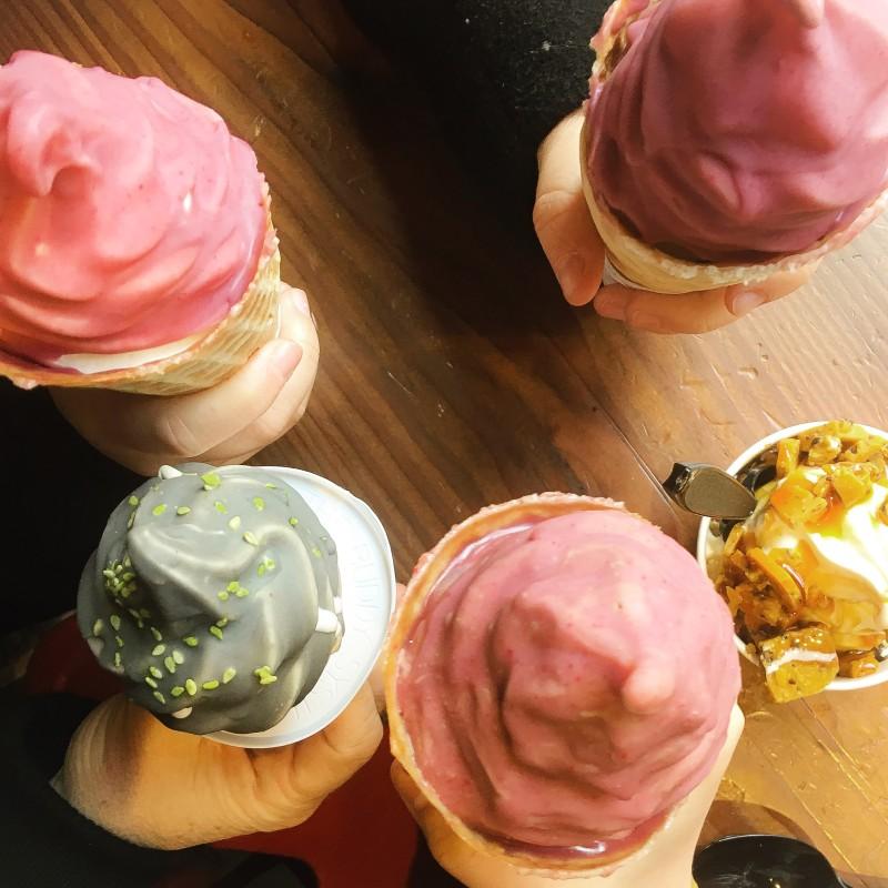 Girls Weekend Ice Cream Cones at Wiz Bang Bar