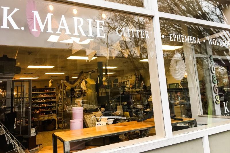 K. Marie Vintage Crafting Store Milwaukee