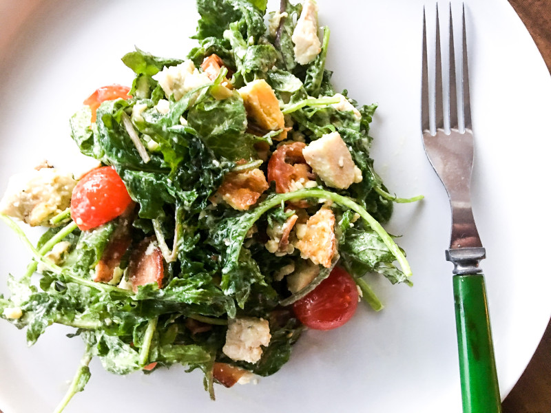 Homegrown Seattle Farm Cobb Salad