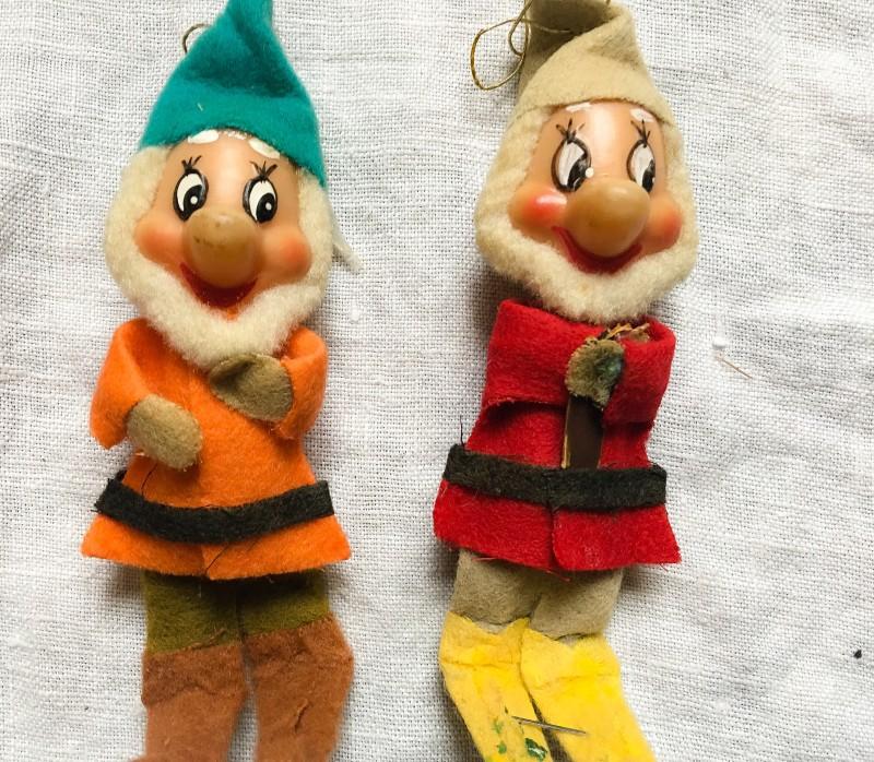 Vintage Dwarves Goodwill BIns