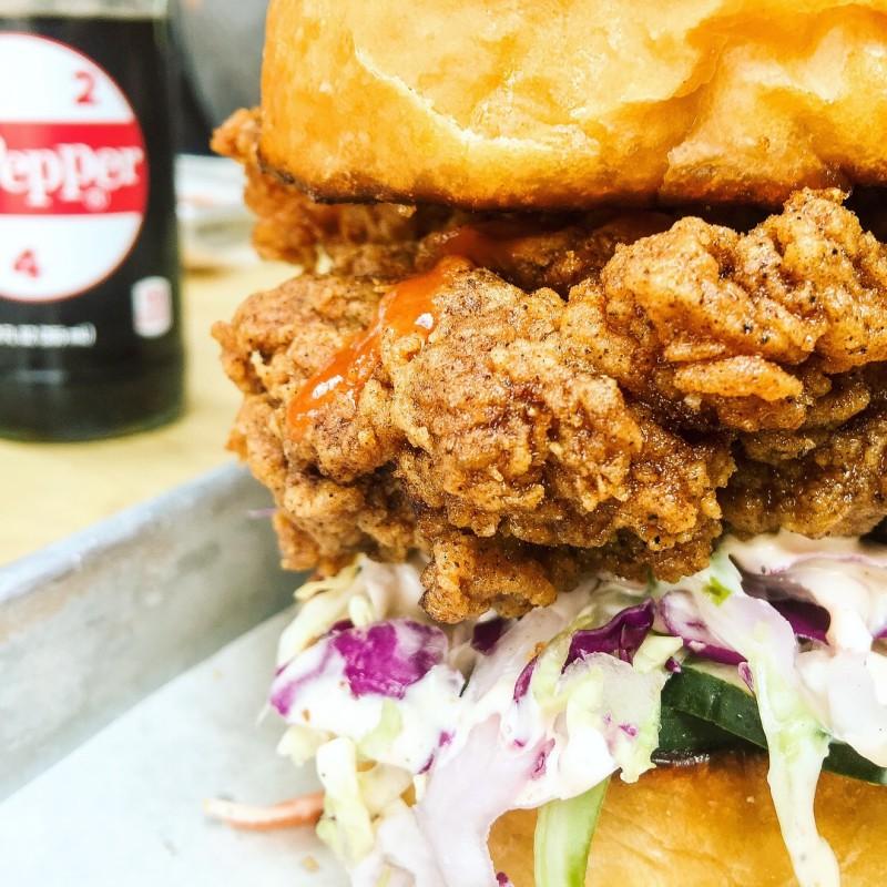 Fried Chicken Sandwich Basilisk