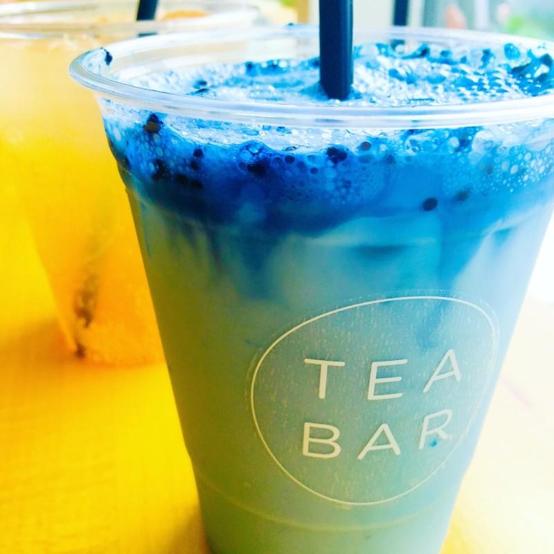 Tea Bar Drink Blue Majik