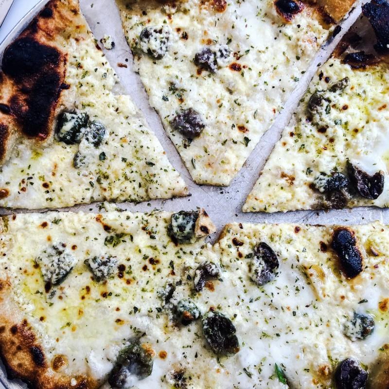 Pizza at Gjusta Venice Beach
