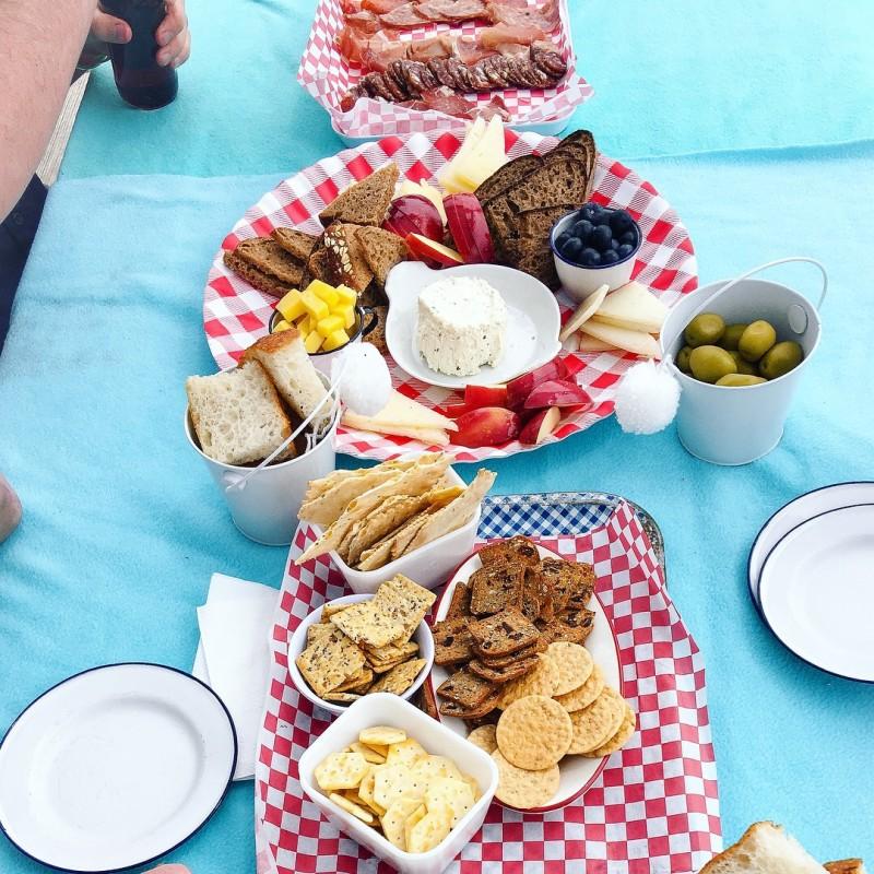 4th of July picnic at Sauvie Island