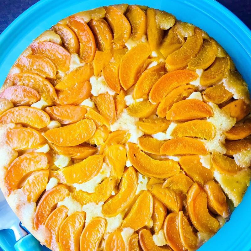 Apricot tart from Cookbook