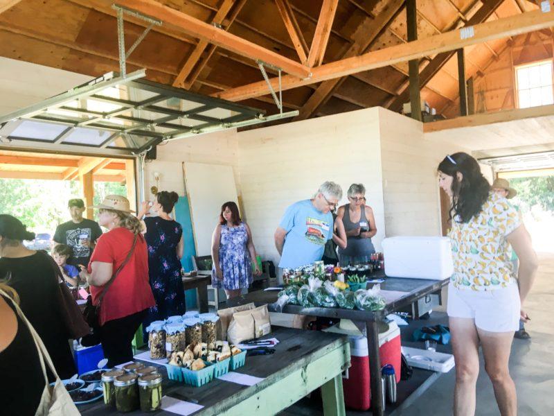 Portland PDC Food Swap Sauvie Island