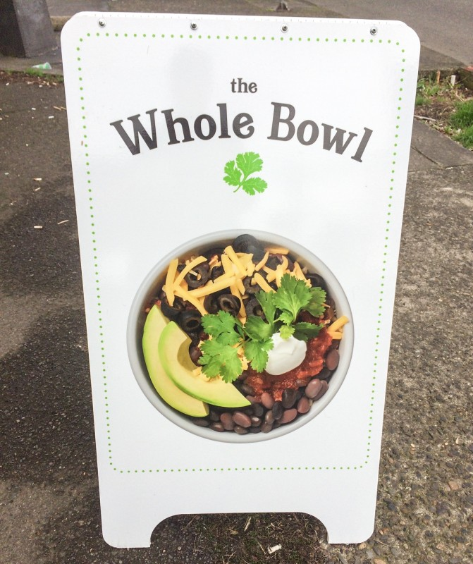 Whole Bowl Sign
