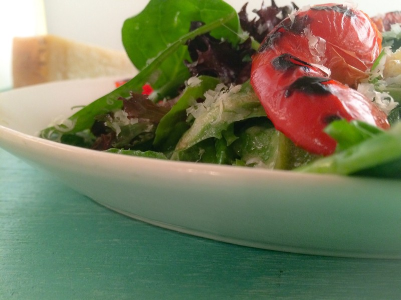 Salad with Red Pepper