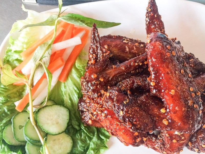 Pok Pok Chicken WIngs, Portland