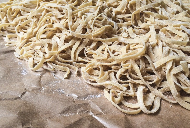 Fresh Egg Pasta from Pastaworks, Portland