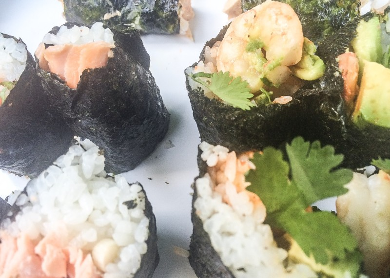 Homemade Sushi Rolls, Portland