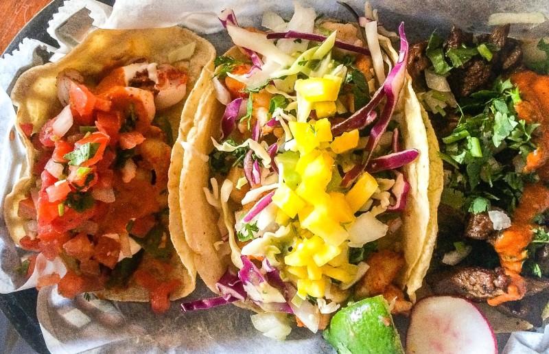 Three Tacos at Porque No, Portland