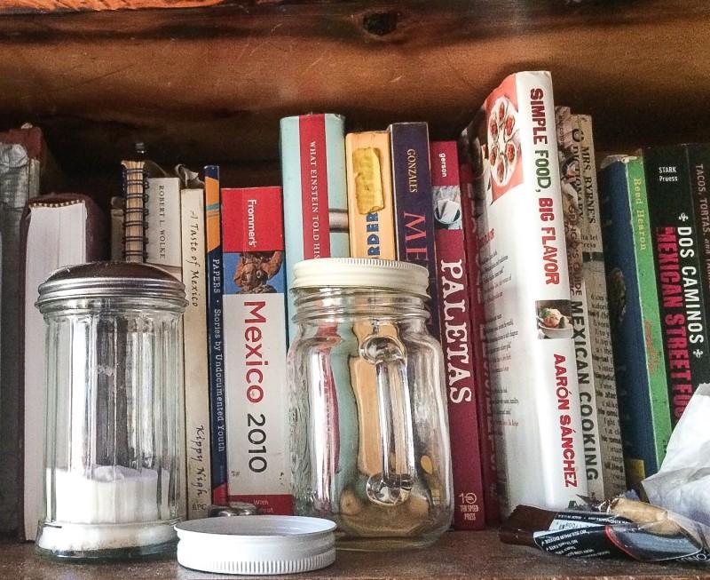 Cookbooks at Porque No, Portland