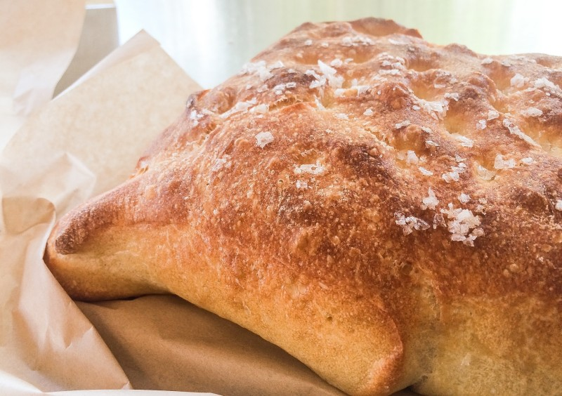 Focaccia at Little T American Baker