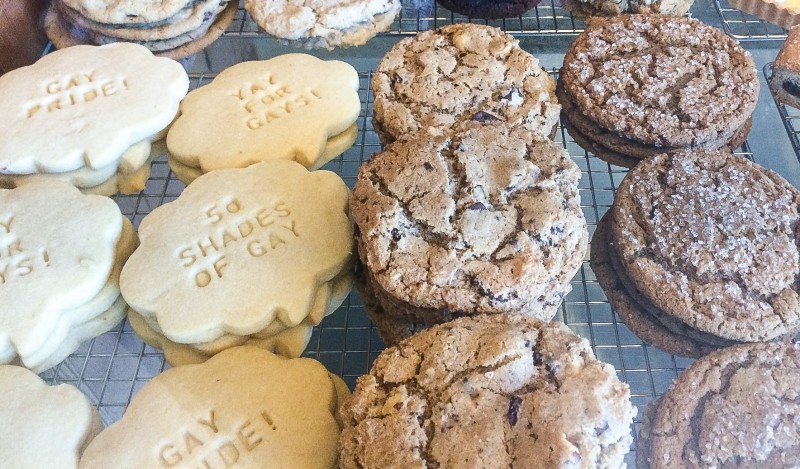 Cookie Counter at Little T American Baker, Portland
