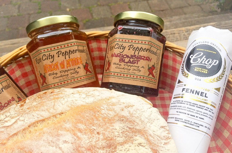 Chop Butchery and Charcuterie, Pearl Bakery and Rose City Pepperheads at PSU Portland Farmers Market
