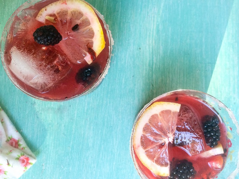 Summer Entertaining, Blackberry Cocktail, Block Party Drink
