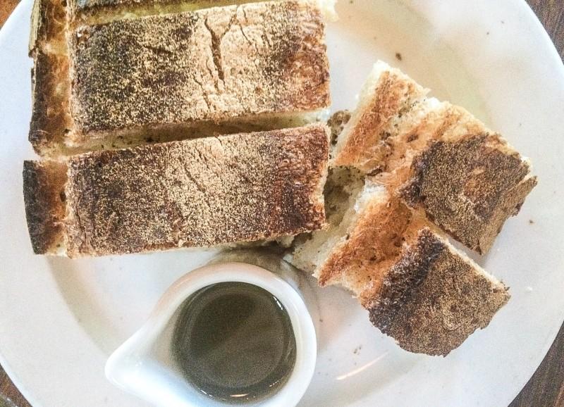 Ken's Artisan Bakery Bread at Serratto Restaurant, Portland