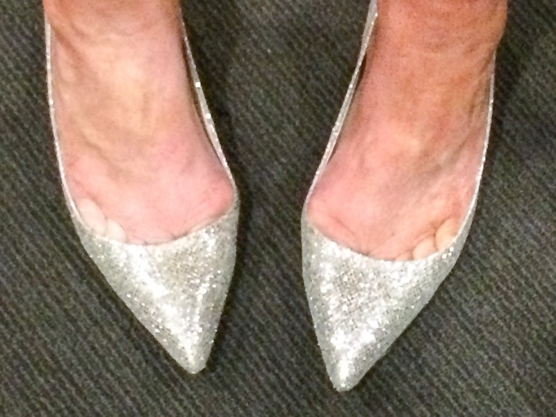 Glitter Shoes for Wicked Show