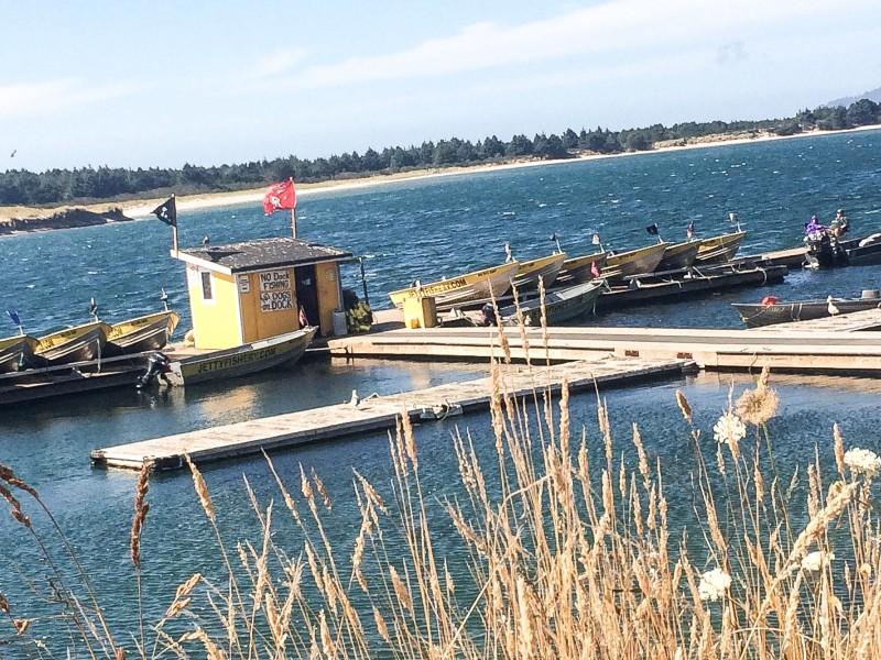 Jetty Fishery in Wheeler, Oregon Coast