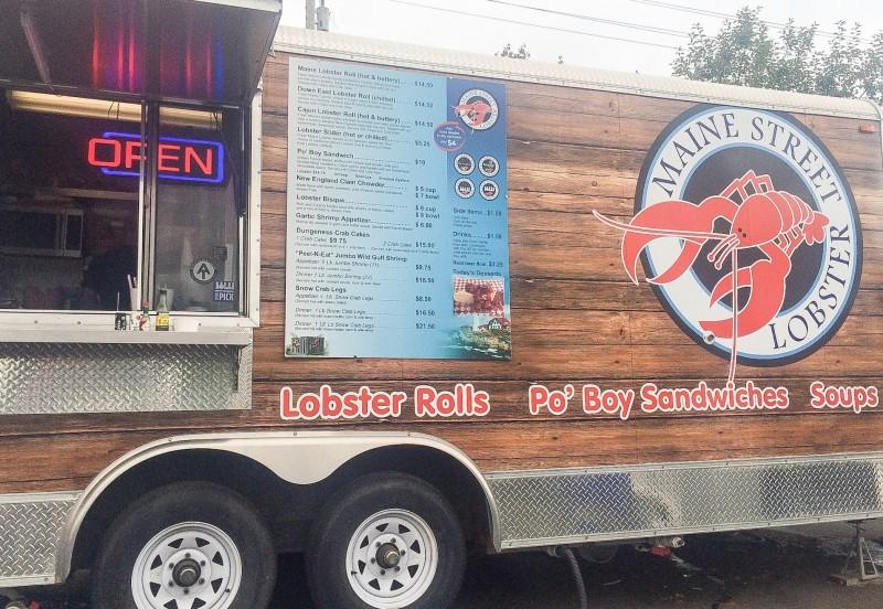 Maine Street Lobster Food Cart