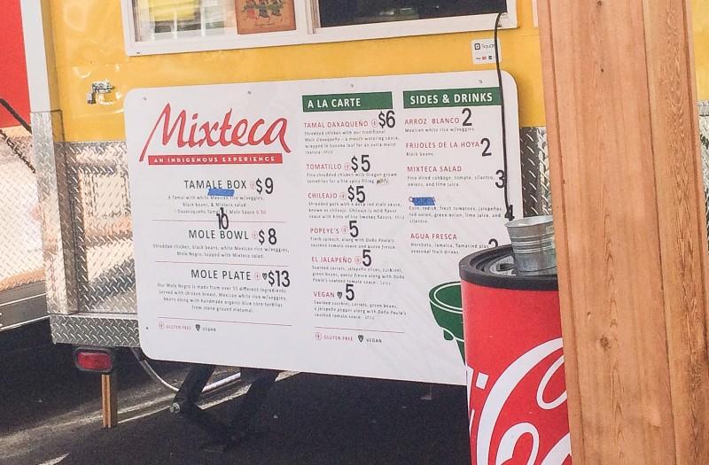 Mixteca Food Cart, Portland Mercado