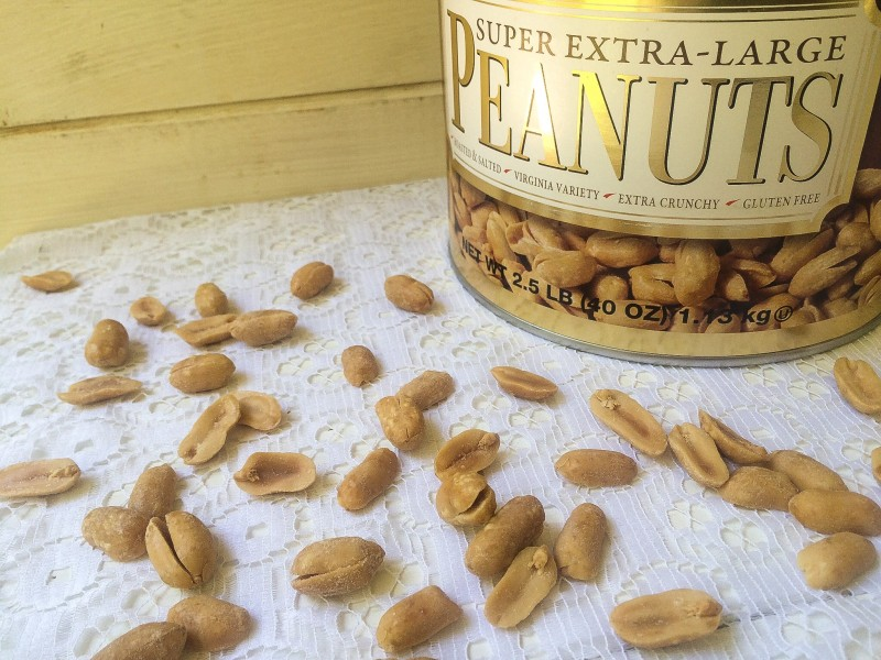 Extra-Large Virginia Peanuts for Peanut Butter and Jelly Bars