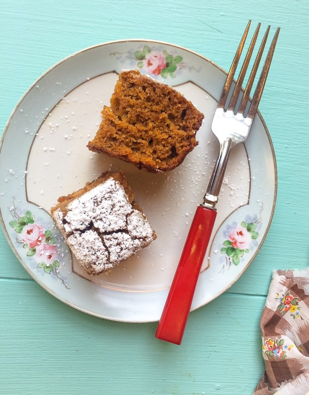 Spiced Pumpkin Bread Cake for Neighbors