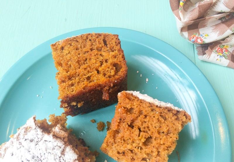 Spiced Pumpkin Bread Cake