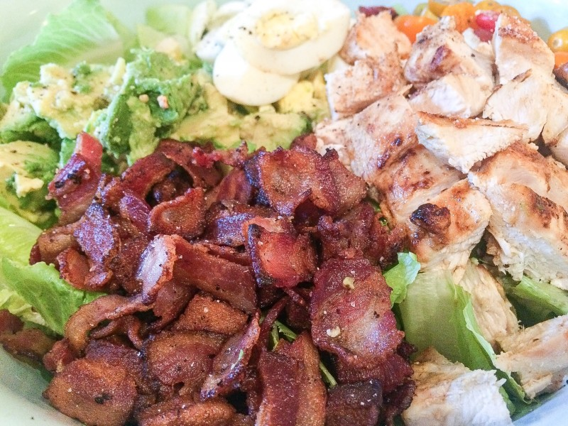 Bacon and Chicken for Cobb Salad