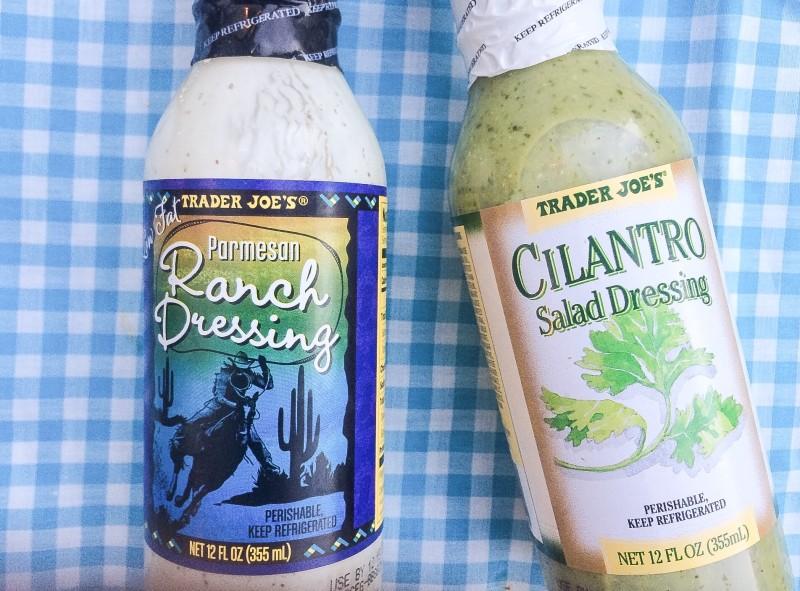 Trader Joe's Ranch and Cilantro Dressing