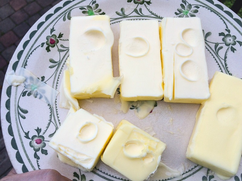 Softened Butter for Chocolate Sandwich Cookies