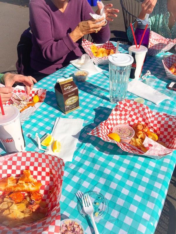 Lobster Rolls Portland, Maine Street Lobster, Food Cart