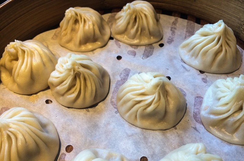 Pork Soup Dumplings XLB at Din Tai Fung Seattle