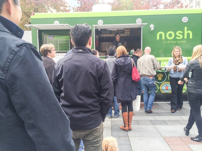 Nosh Food Truck, Seattle