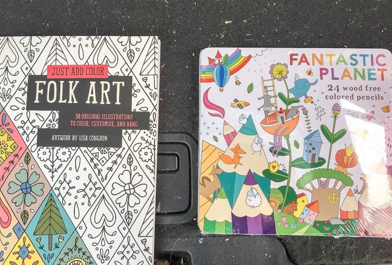 Needy Family Donation, Art Supplies
