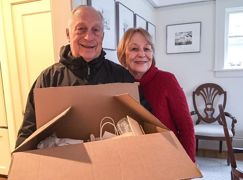 Isabel and Al, Stranger Donations