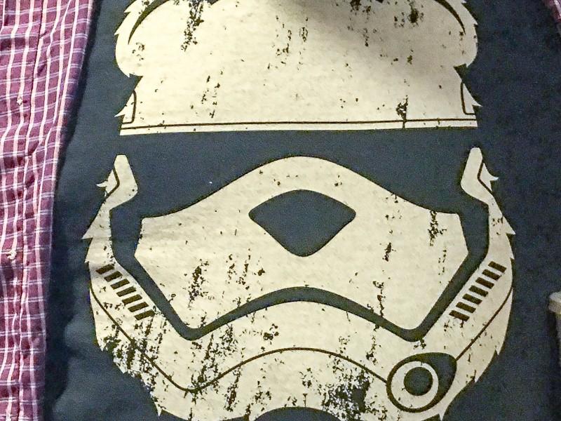 Star Wars T-shirt at Star Wars Movie