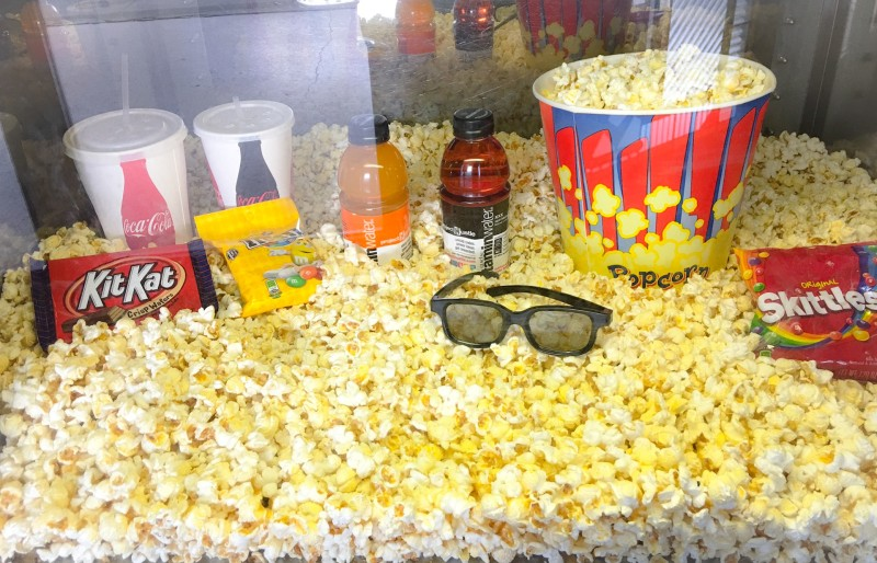 Concessions at Roseway Theater