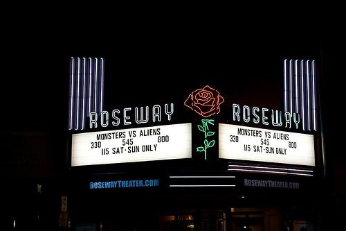 Roseway Theater in Portland