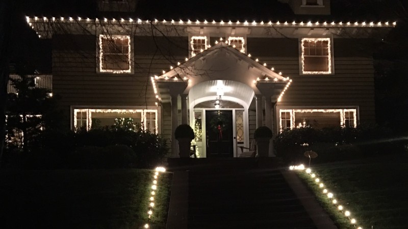 Christmas Lights, Portland