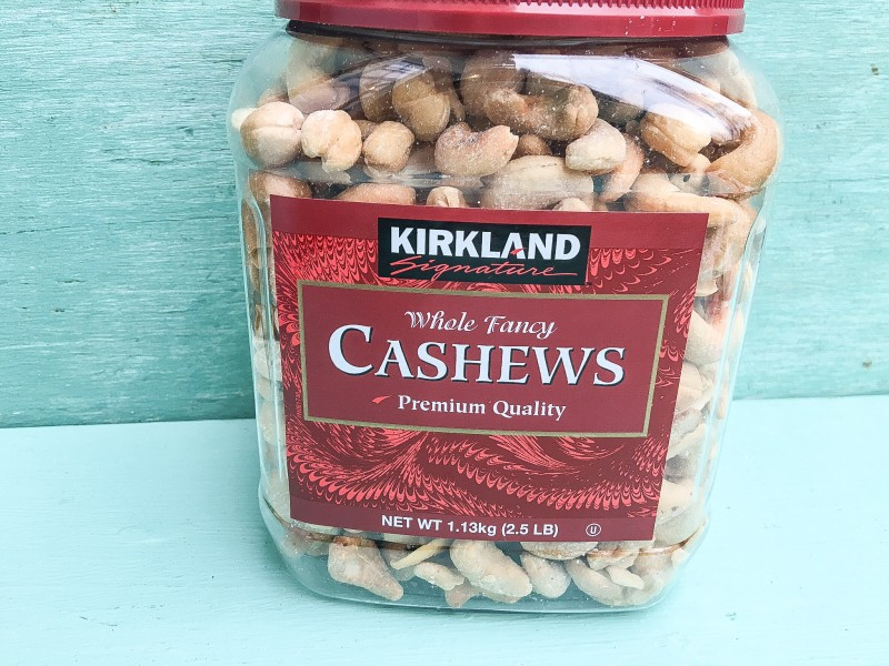 Roasted Cashews for Holiday Food Gift