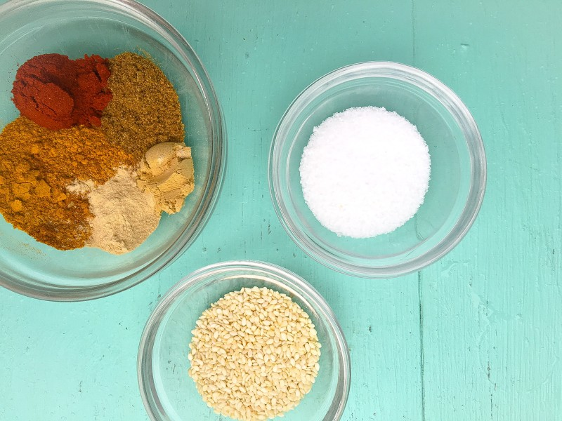 Spices for Curried Cashews