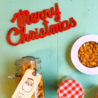 Holiday Food Gifts, Curried Cashews