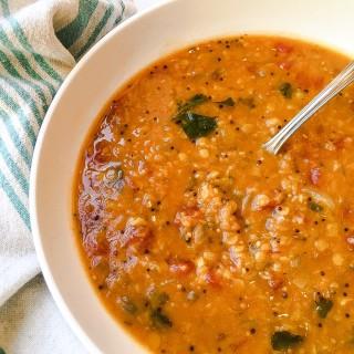 Bengali Lentil Soup, Soup Swap Party